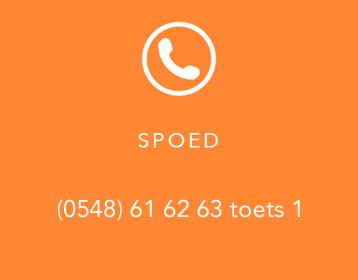 Spoed buiten kantooruren - Bel 088 – 588 0 588